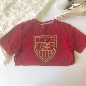 Nike Dri Fit US Soccer Team Number 11 Size L
